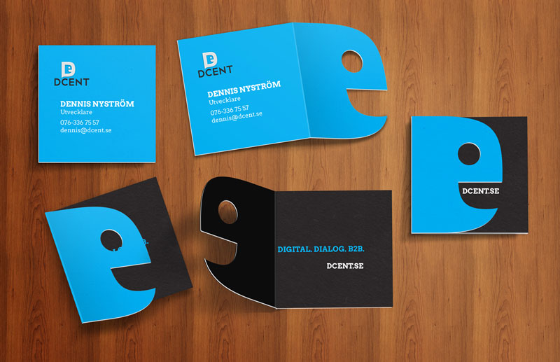 Businesscard mock-ups Dcent